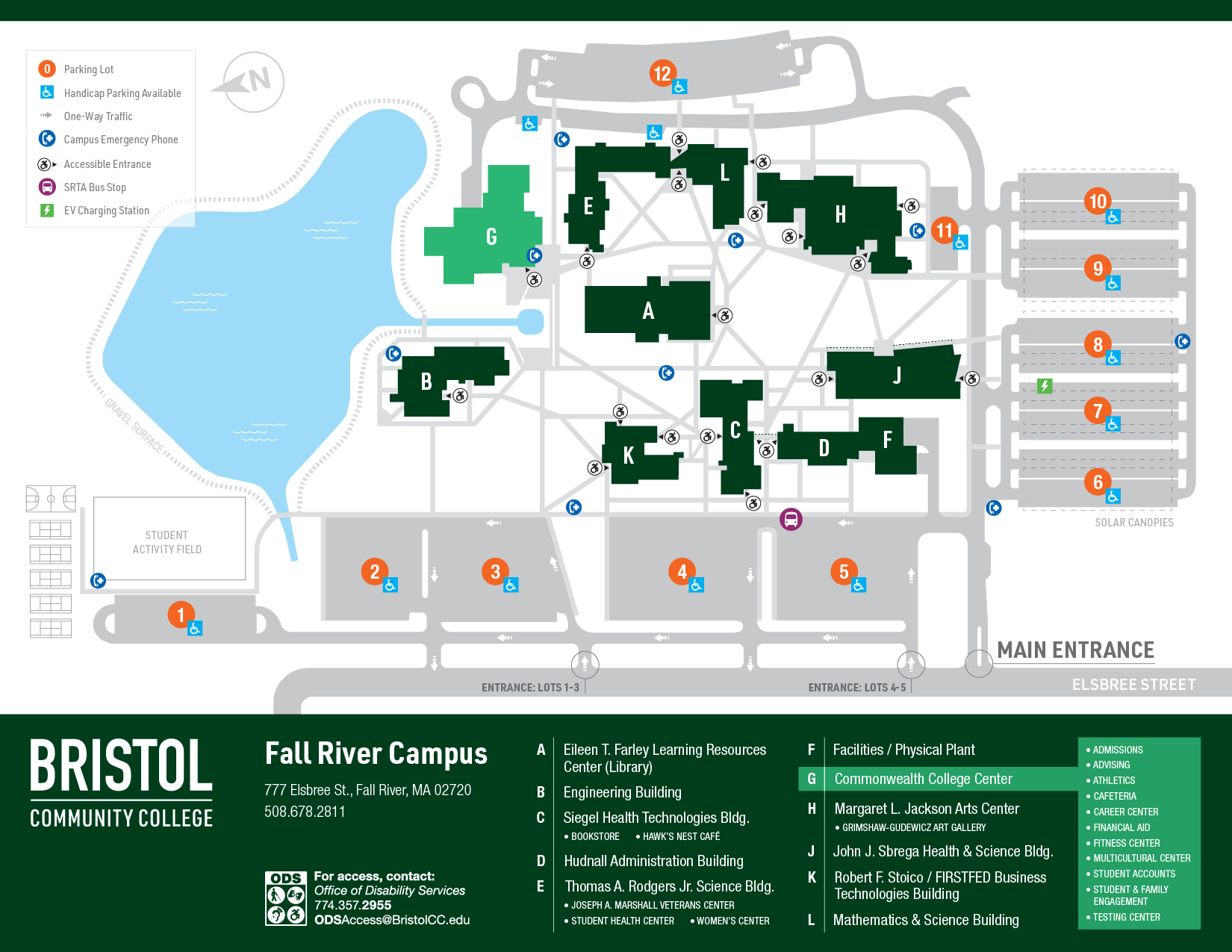 Locations_2019 Fall River Campus Map Full Image